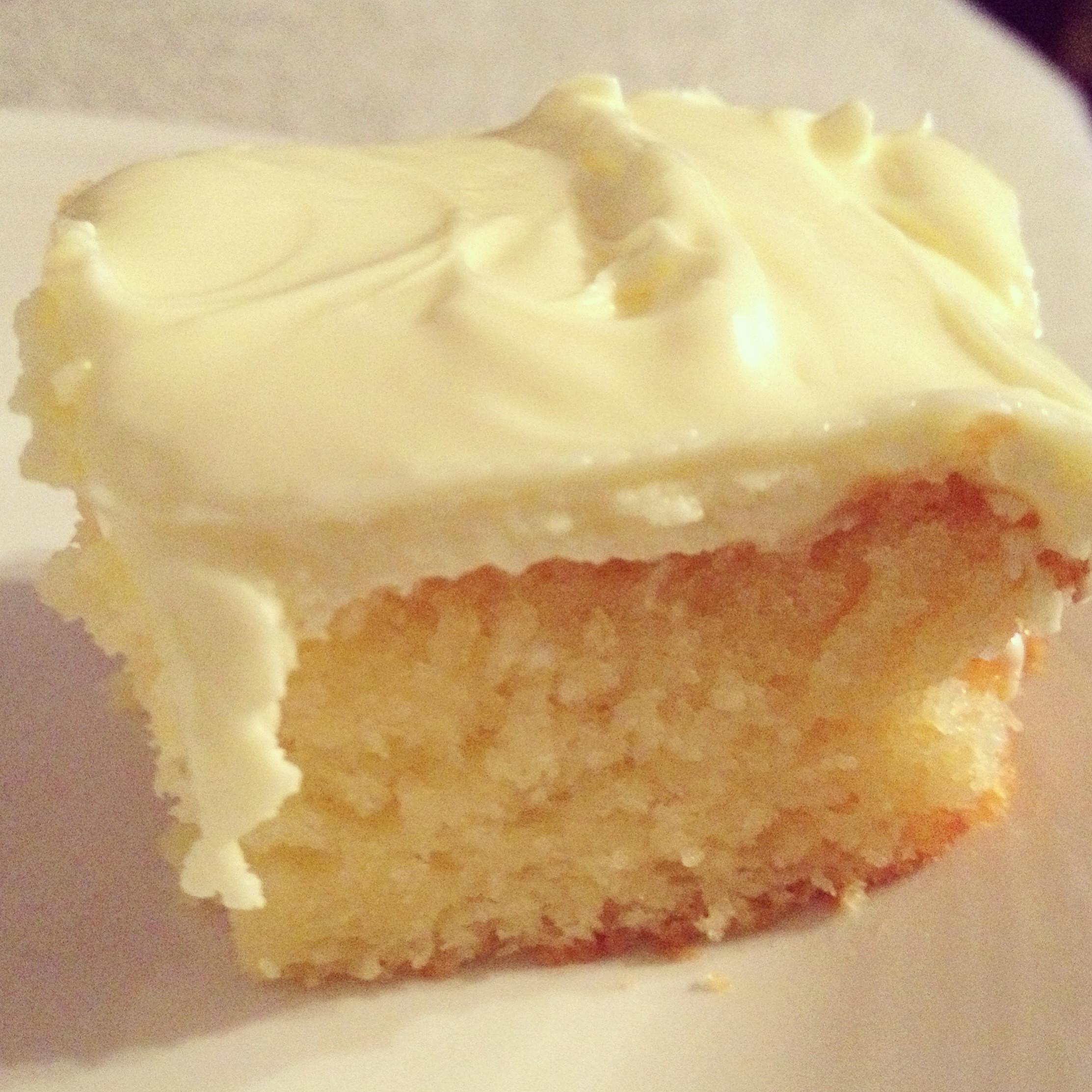 Lemon Cake From Scratch  lemon cake mix