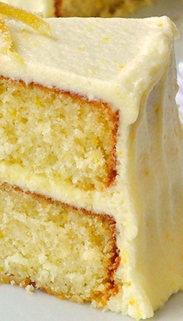 Lemon Cake From Scratch  lemon cake recipes from scratch