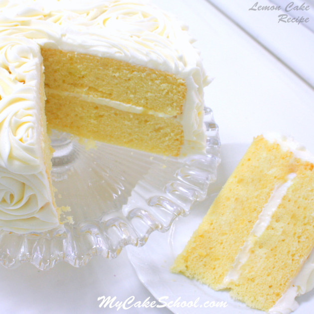 Lemon Cake From Scratch  Lemon Cake A Scratch Recipe