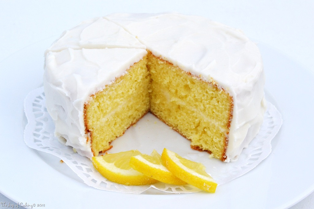 Lemon Cake From Scratch  Elegant and Lemon i cious from scratch – THE JOY OF CAKING