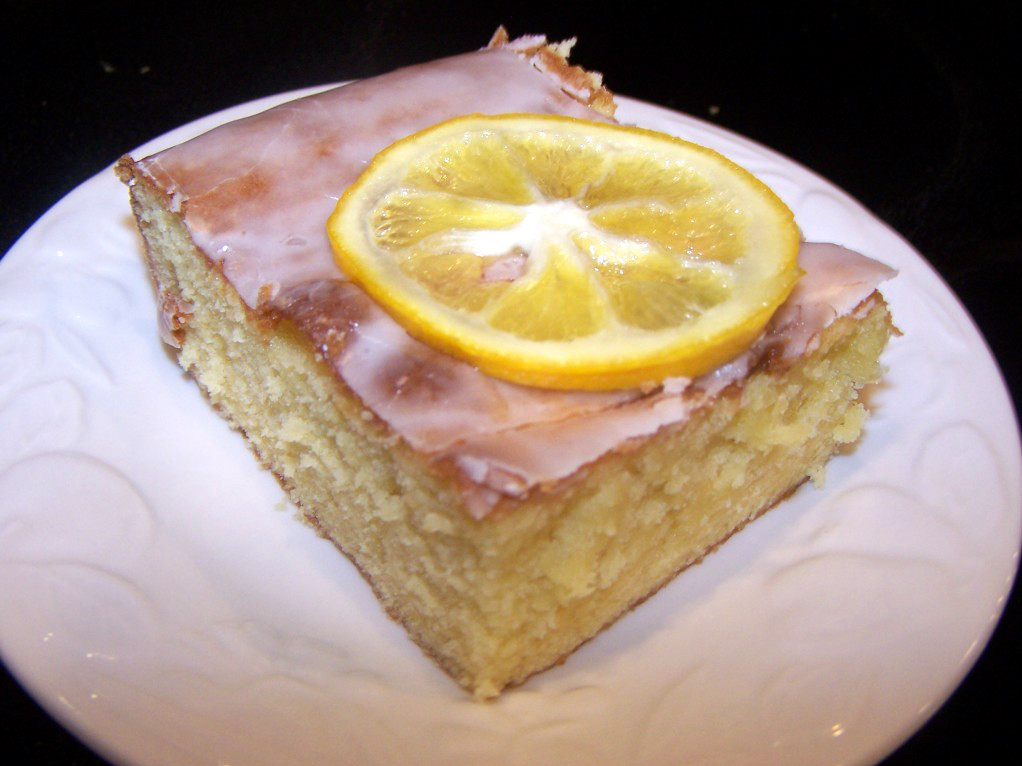 Lemon Cake From Scratch  Lemon Poke Cake Recipe from scratch Clever Housewife