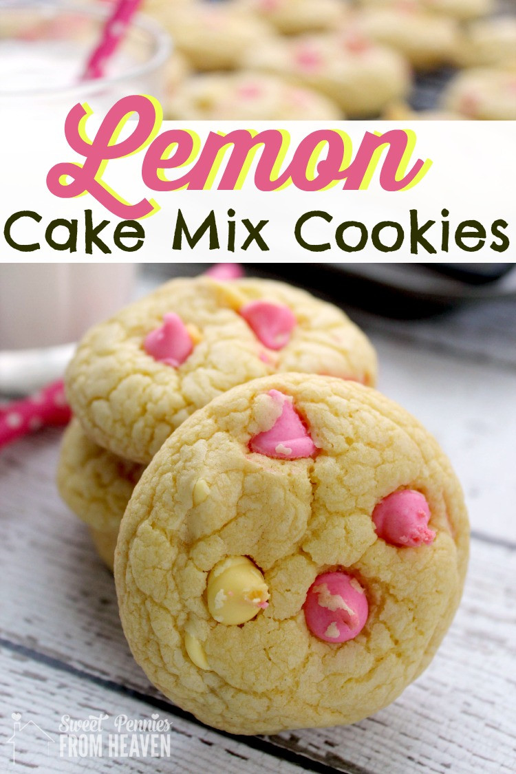 Lemon Cake Mix Cookies  Make These Lemon Cake Mix Cookies Now Thank Me Later