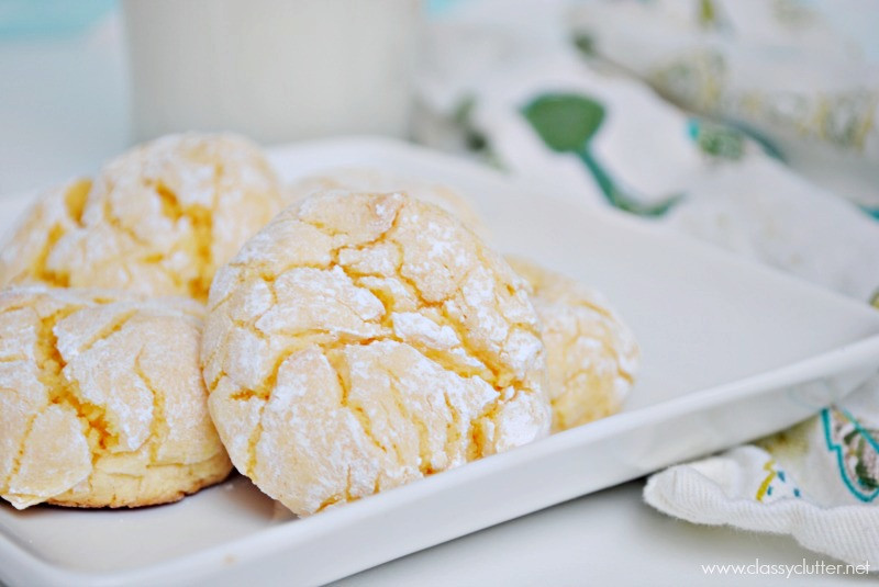 Lemon Cake Mix Cookies  Cake Mix Lemon Cookies