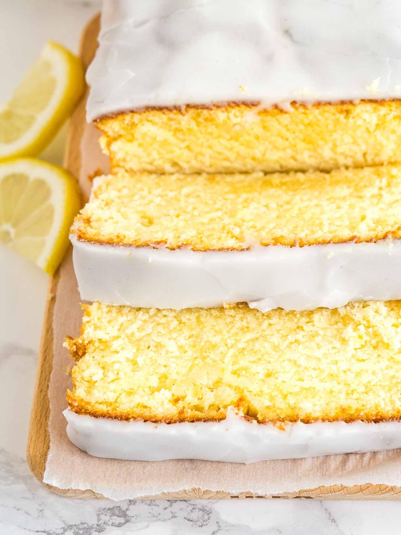 Lemon Cake Recipes From Scratch  Moist Lemon Cake Recipe Homemade Starbucks Lemon Loaf