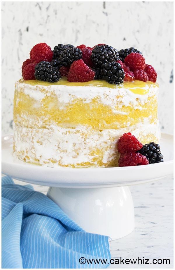 Lemon Cake Recipes From Scratch  Moist Lemon Cake Recipe