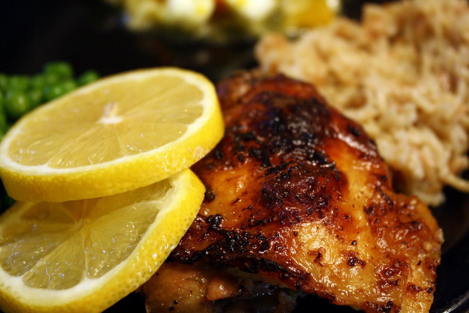 Lemon Chicken Baked  Food Tastes Good Baked Lemon Chicken