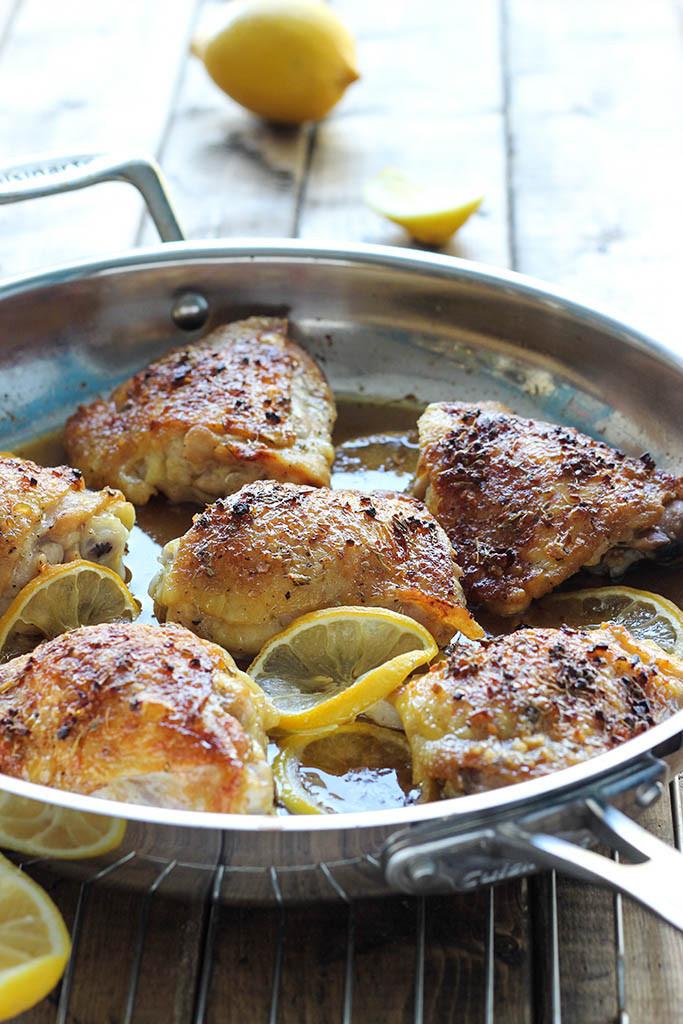 Lemon Chicken Baked  honey lemon chicken thighs baked