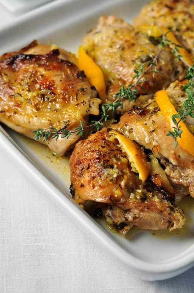 Lemon Chicken Baked  Easy Baked Lemon Chicken Flavour and Savour
