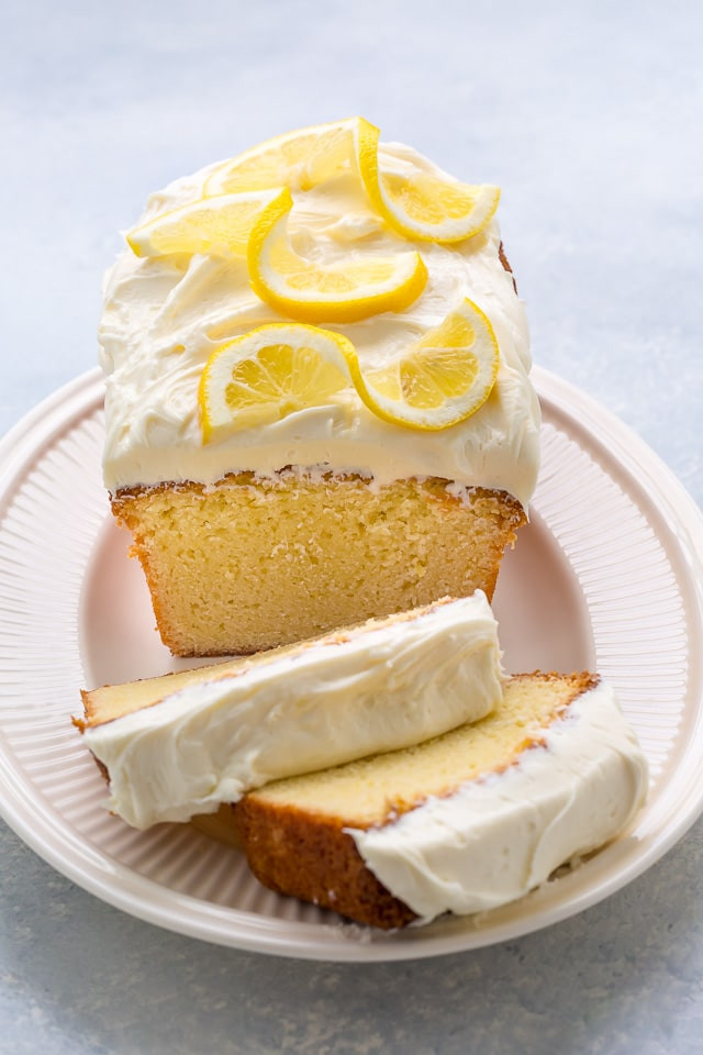 Lemon Cream Cheese Pound Cake  Lemon Pound Cake with Lemon Cream Cheese Frosting Baker