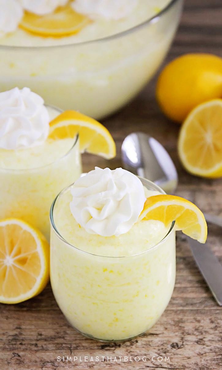 Lemon Desserts Recipes  Lemon Fluff Dessert