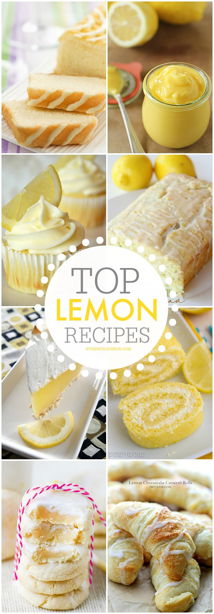 Lemon Desserts Recipes  Best Lemon Dessert Recipes The 36th AVENUE