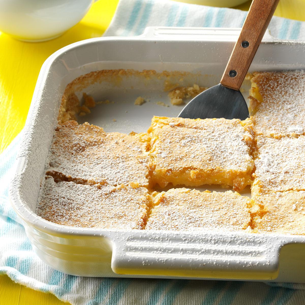 Lemon Desserts Recipes  Lemon Bars Recipe
