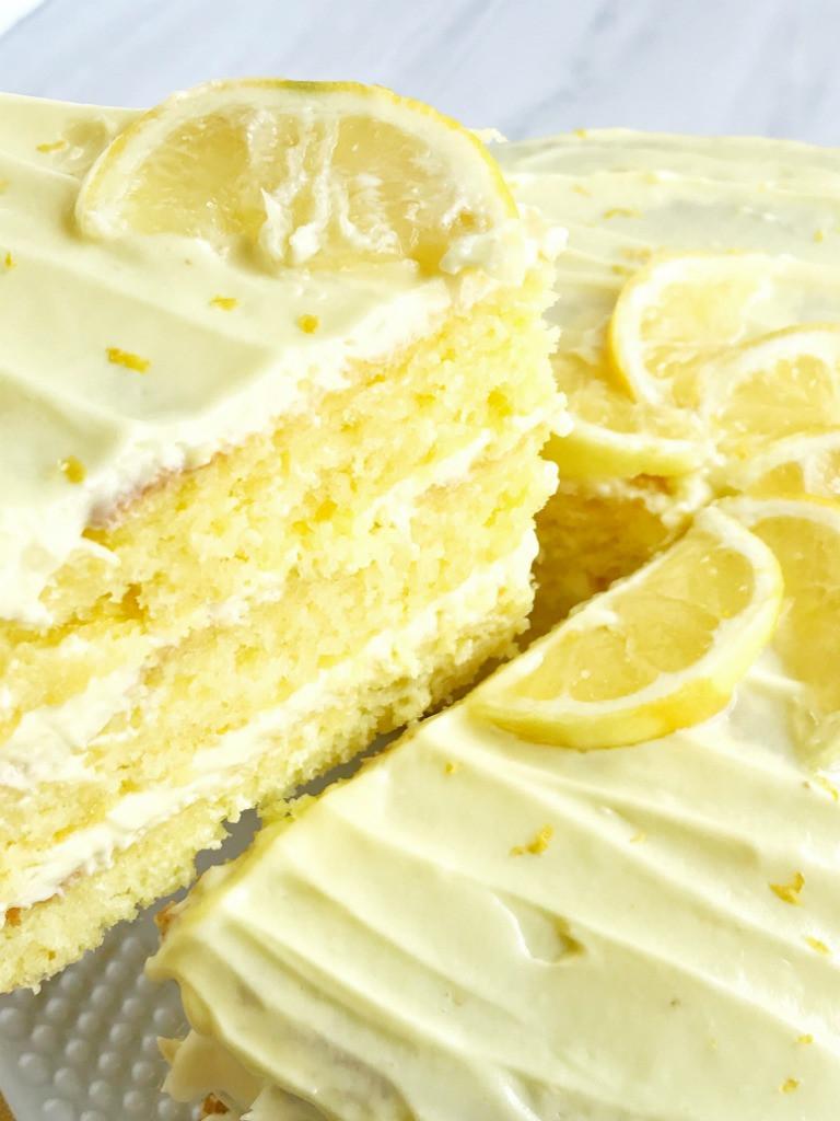 Lemon Layer Cake  easy Lemon Lovers Layered Cake To her as Family