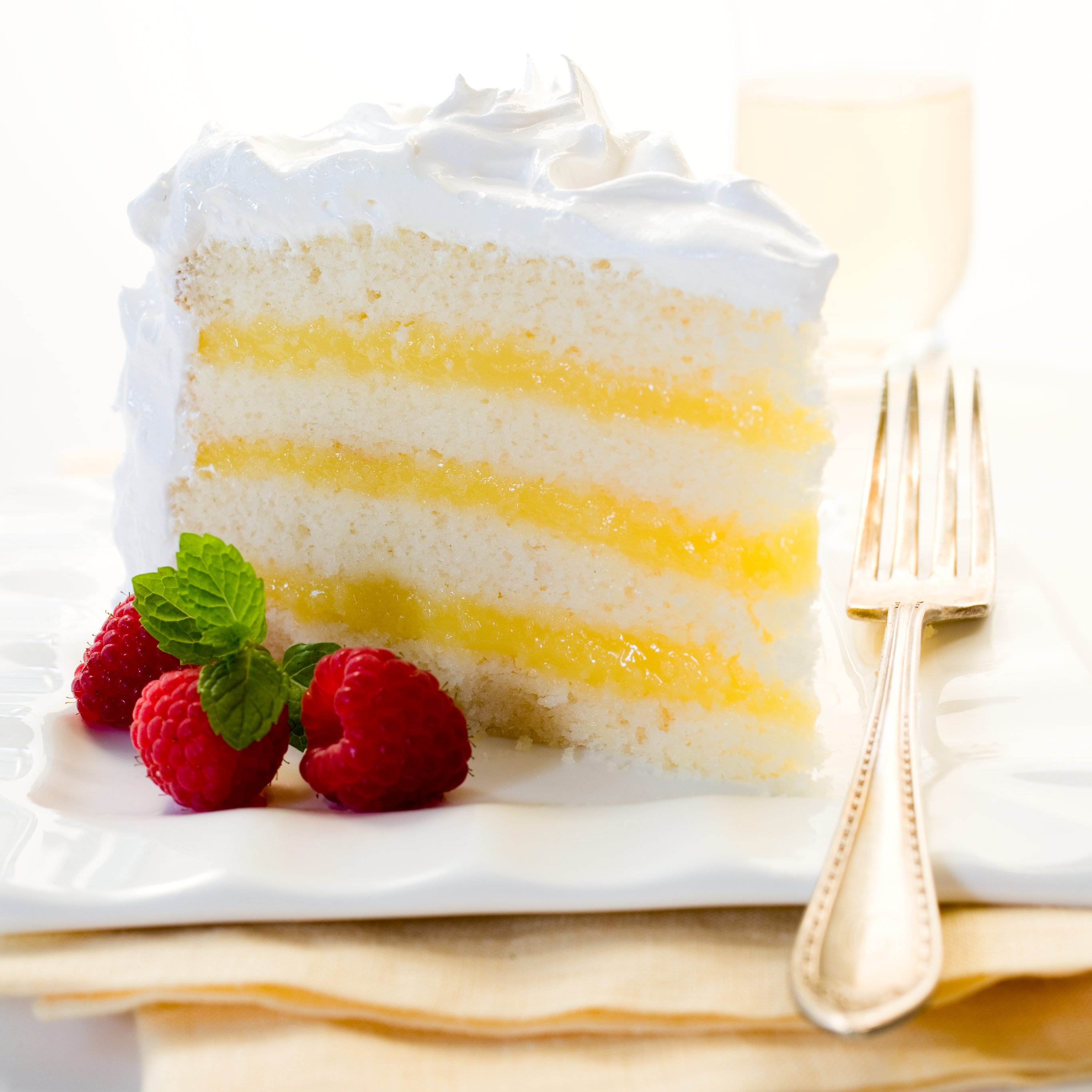 Lemon Layer Cake  Lemon Layer Cake