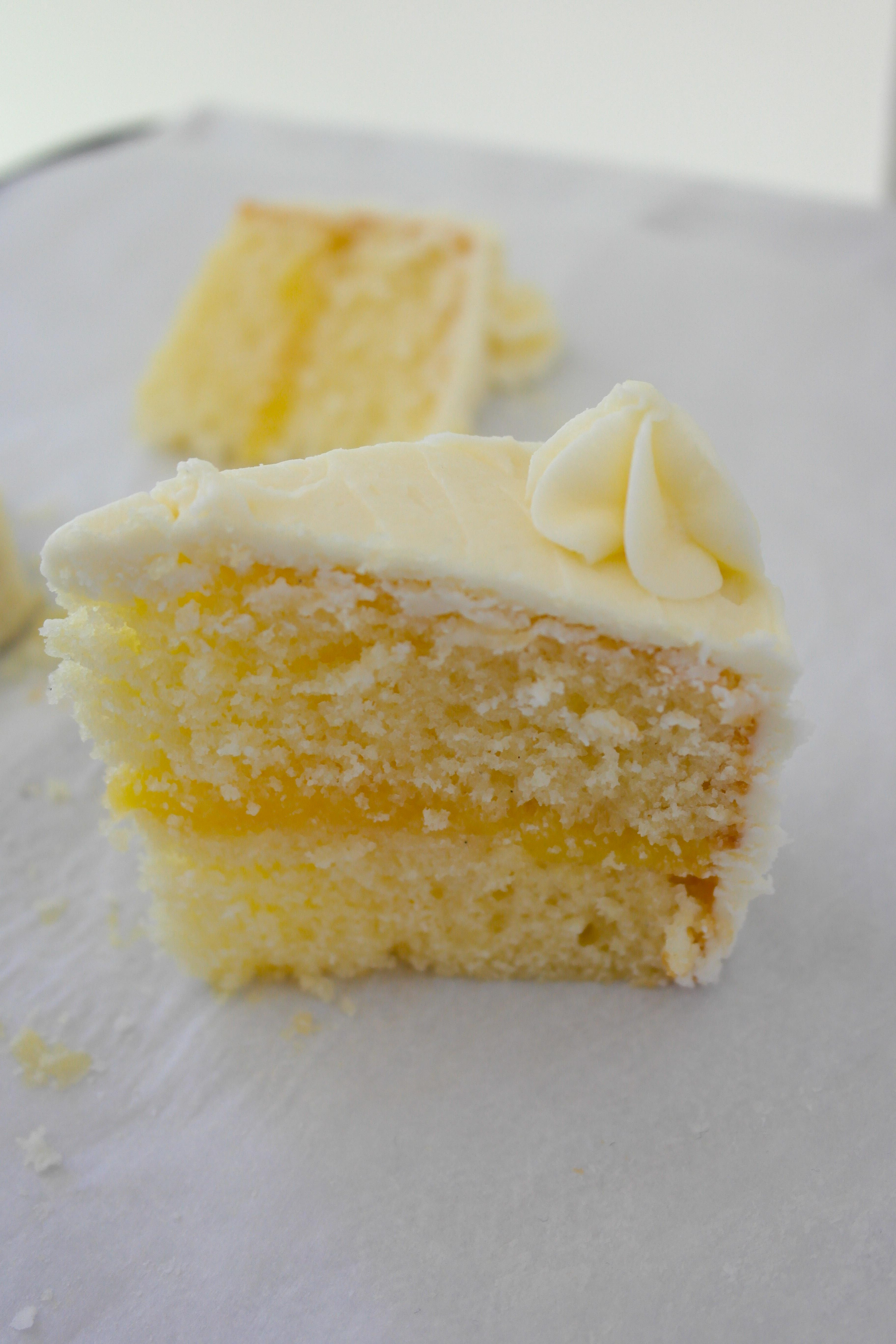 Lemon Layer Cake  Lemon Layer Cake with Lemon Curd Filling – Baking Is A Science