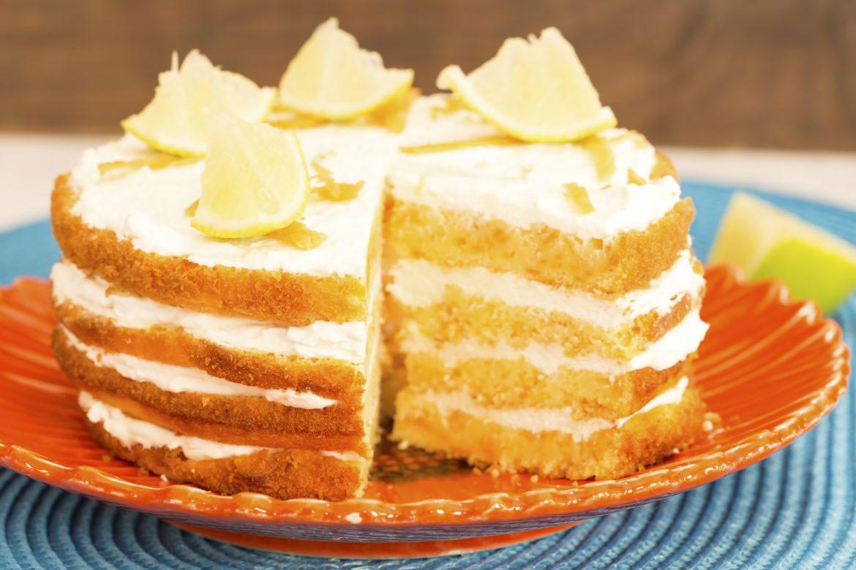 Lemon Layer Cake  Sugar Free Lemon Layer Cake Natvia Natural Sweetener