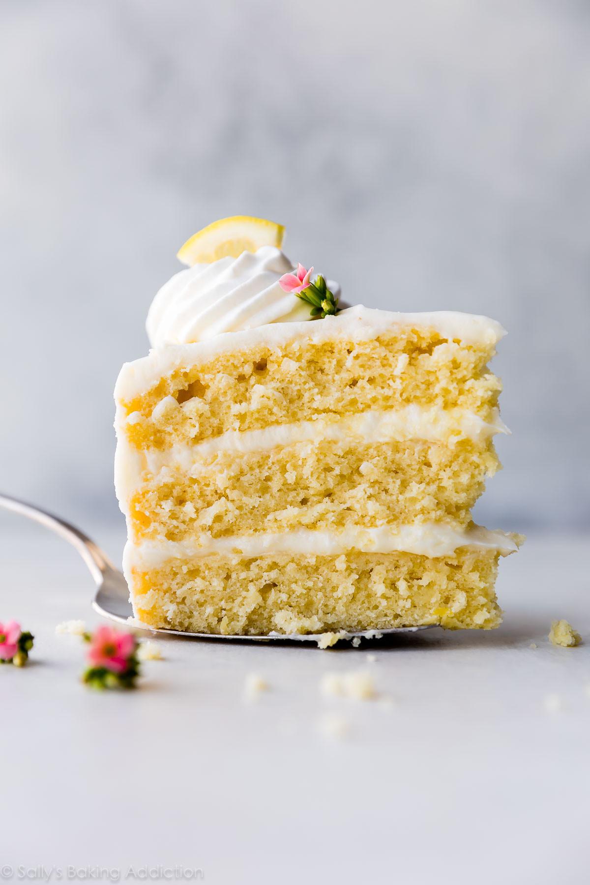 Lemon Layer Cake  Lemon Layer Cake with Lemon Cream Cheese Buttercream