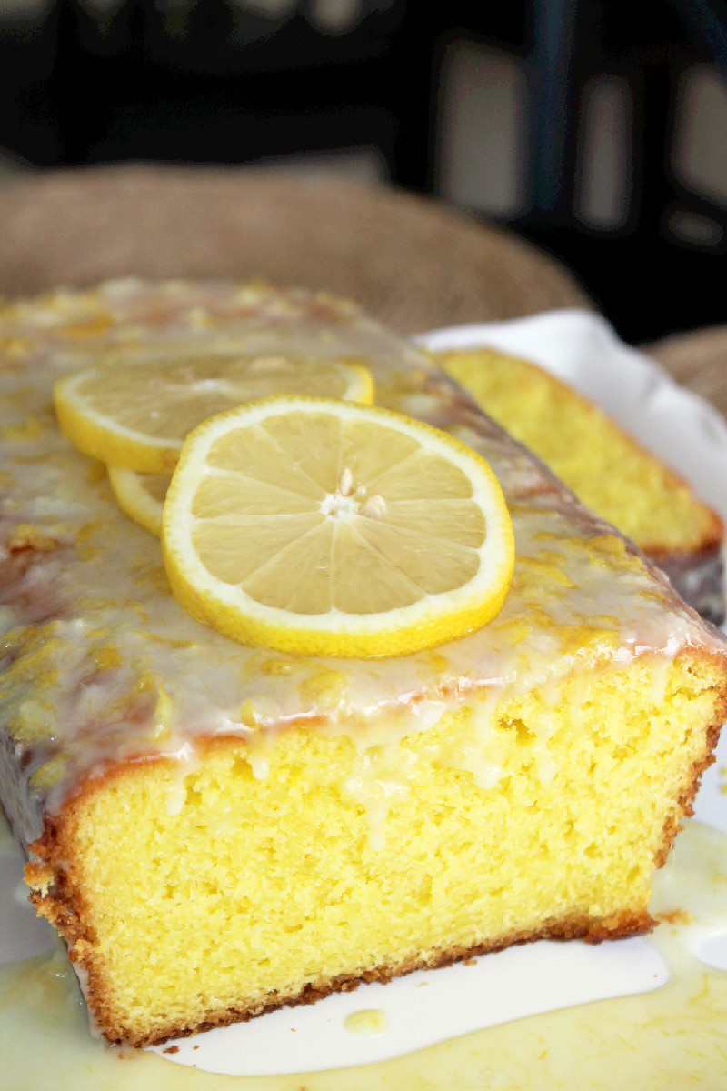 Lemon Loaf Cake  Copycat Starbucks Lemon Loaf Cake Creole Contessa