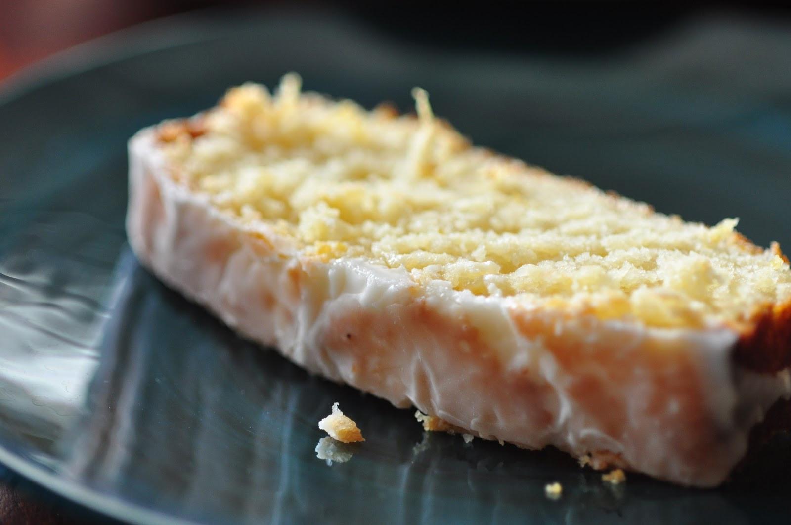Lemon Loaf Cake  Moist and tart lemon loaf A Starbucks lemon pound cake
