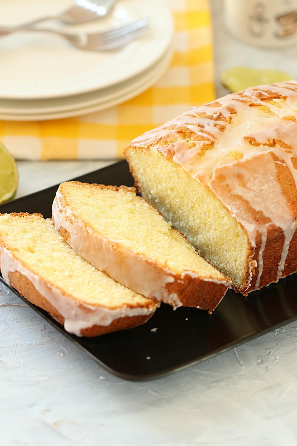 Lemon Loaf Cake  How to make Glazed Lemon Loaf Cake quick and easy Glazed