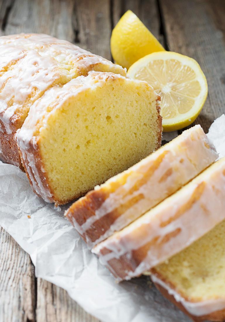 Lemon Loaf Cake  Glazed Lemon Pound Cake Loaf Seasons and Suppers