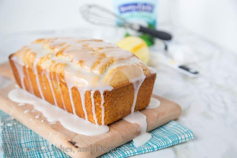 Lemon Loaf Cake  Iced Almond Lemon Loaf Cake
