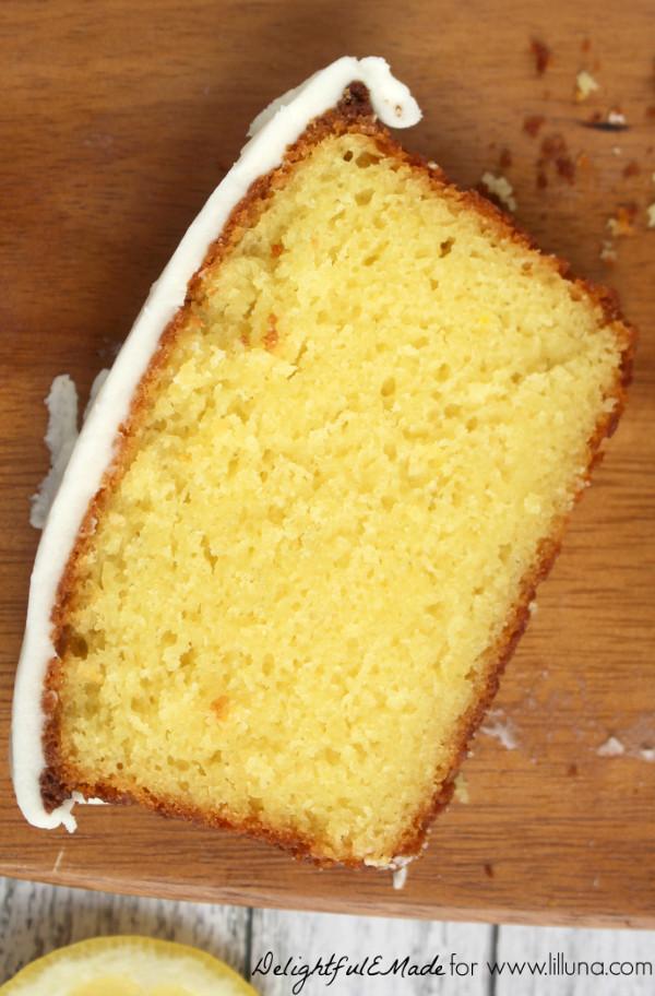 Lemon Loaf Cake  Starbucks Lemon Loaf