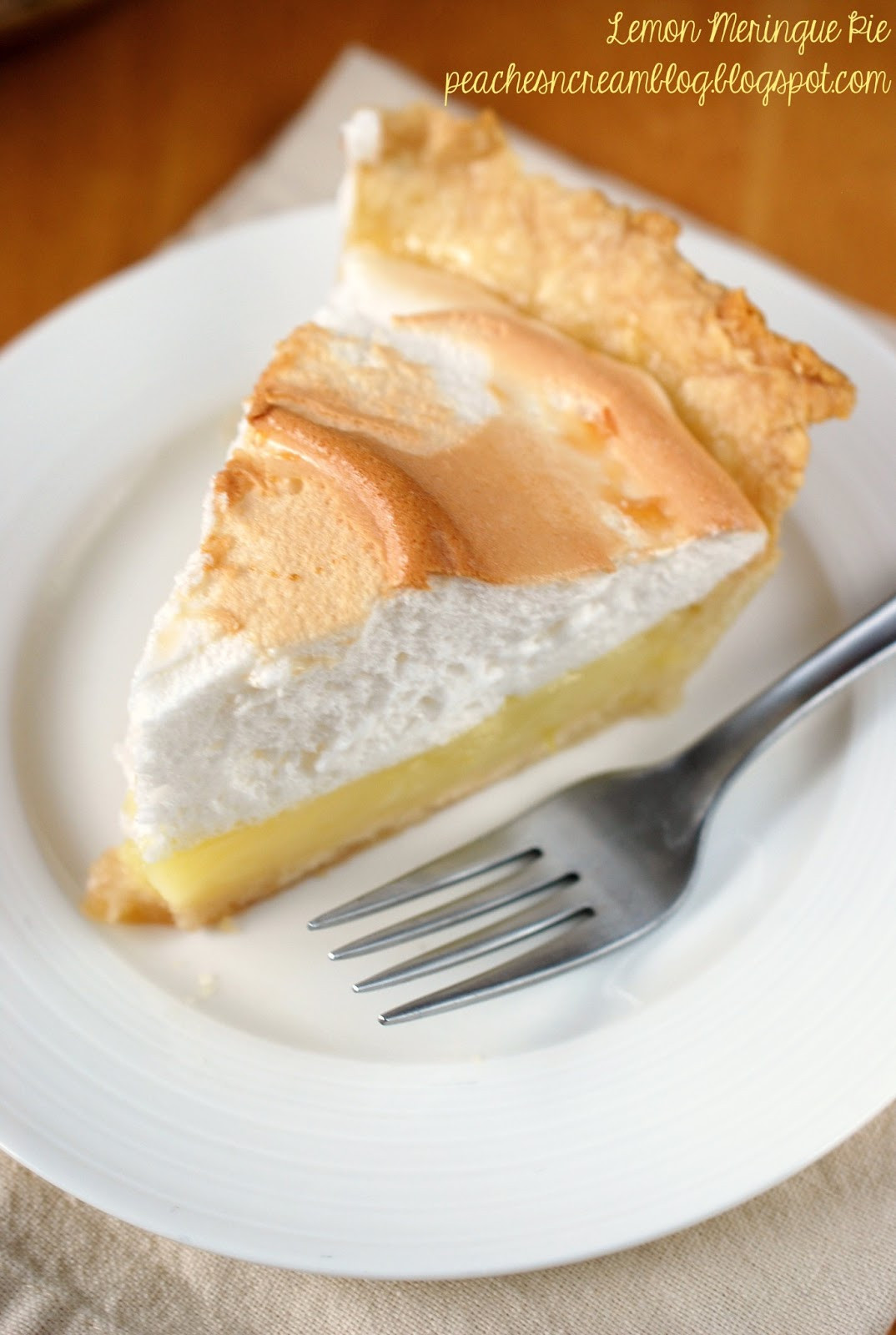 Lemon Meringue Pie Pioneer Woman  Peaches & Cream Friday Jan 25 2013
