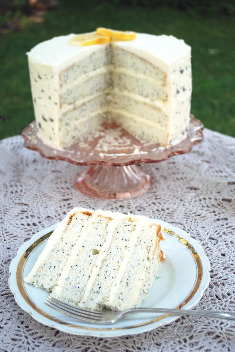 Lemon Poppyseed Cake  Lemon Poppy Seed Cake The Merrythought