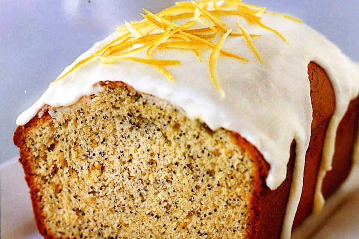 Lemon Poppyseed Cake  Lemon and poppy seed drizzle cake Recipes delicious