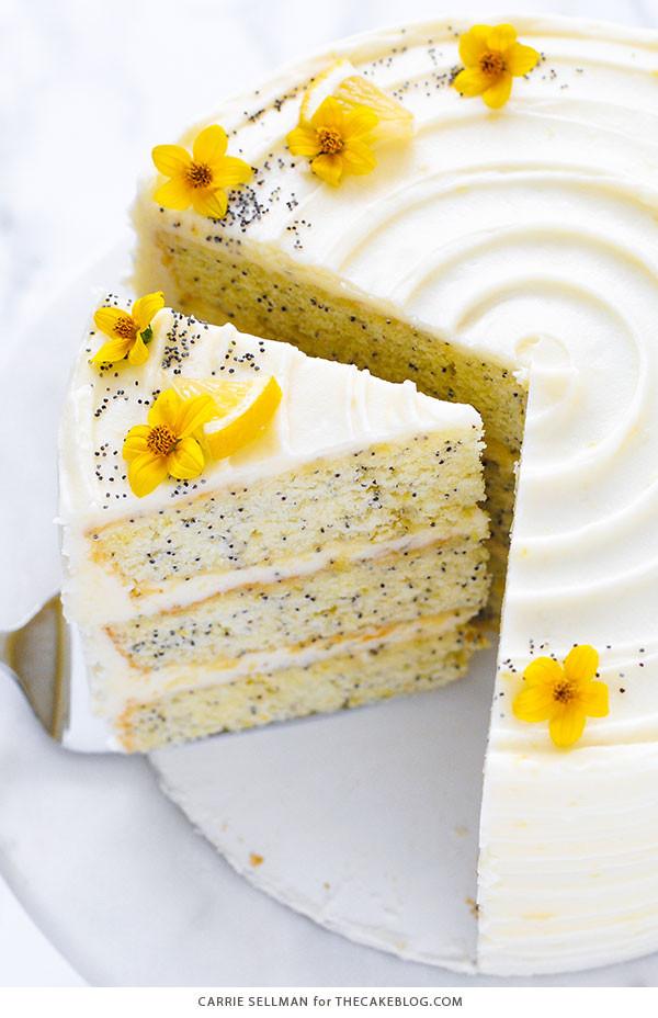 Lemon Poppyseed Cake  Lemon Poppyseed Cake