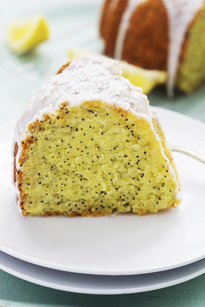 Lemon Poppyseed Cake  Lemon Poppyseed Bundt Cake