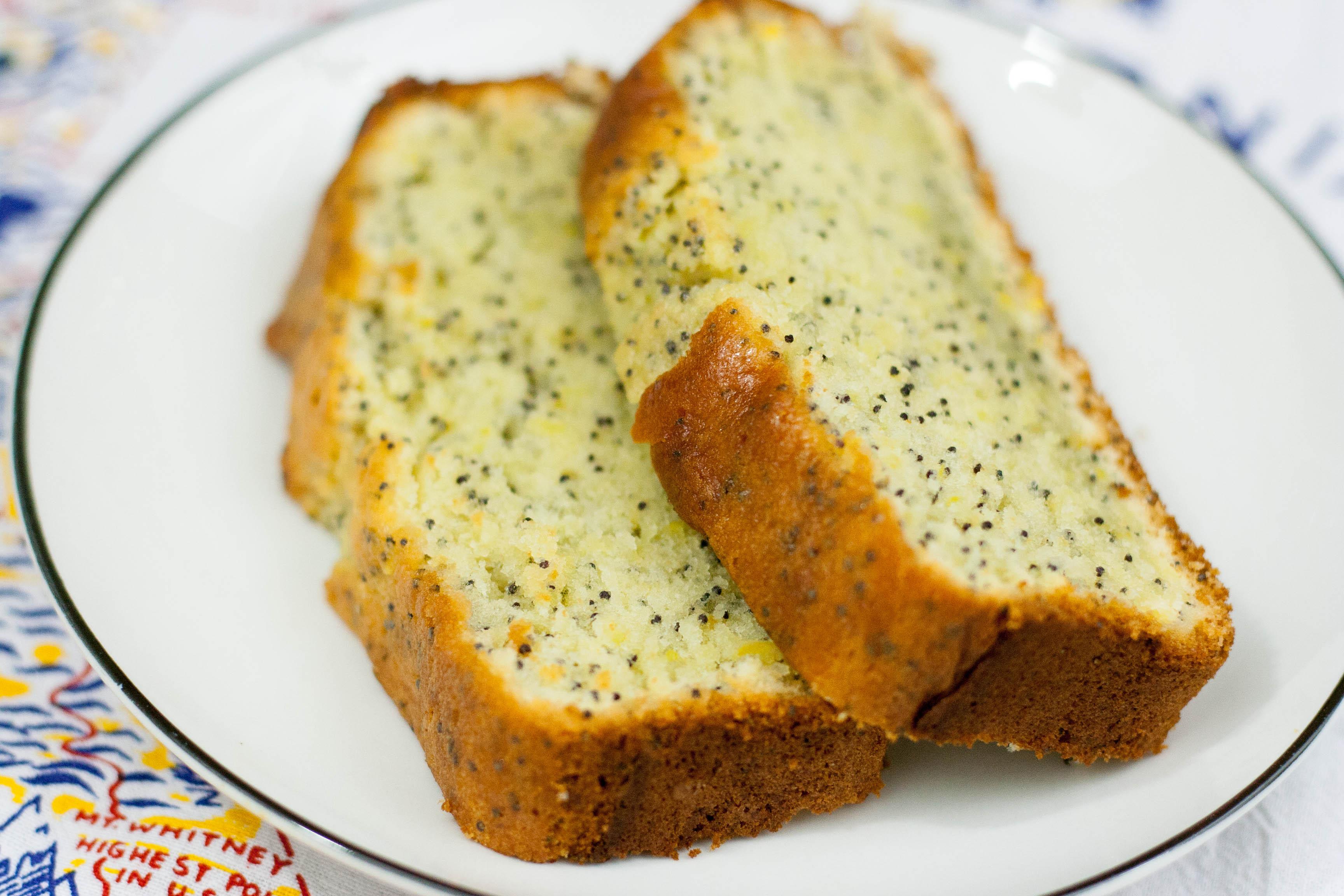 Lemon Poppyseed Cake  Lemon Poppy Seed Pound Cake