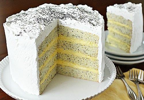 Lemon Poppyseed Cake  The Galley Gourmet Lemon Poppy Seed Lady Cake