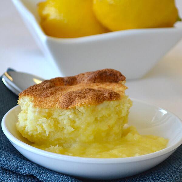 Lemon Pudding Cake Recipe  Baked Lemon Pudding Cake Recipe