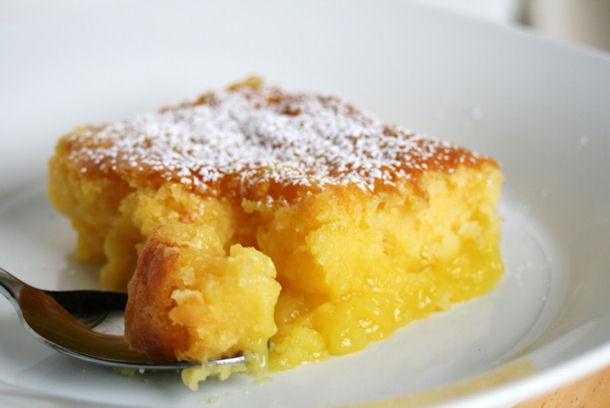 Lemon Pudding Cake Recipe  Epicurus Recipes