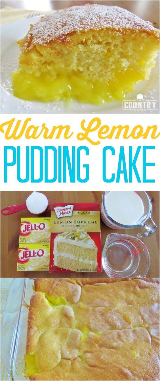 Lemon Pudding Cake Recipe  lemon pudding cake from scratch