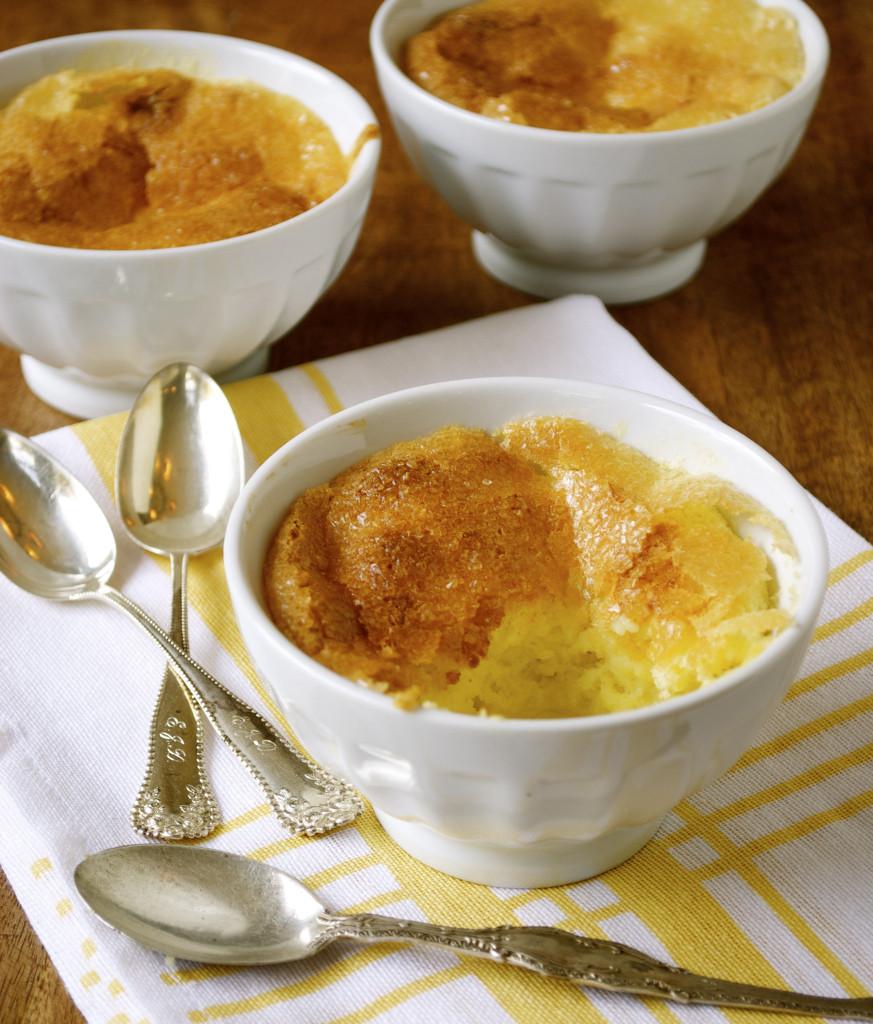 Lemon Pudding Cake Recipe  Lemon Pudding Cakes Mama s Gotta Bake