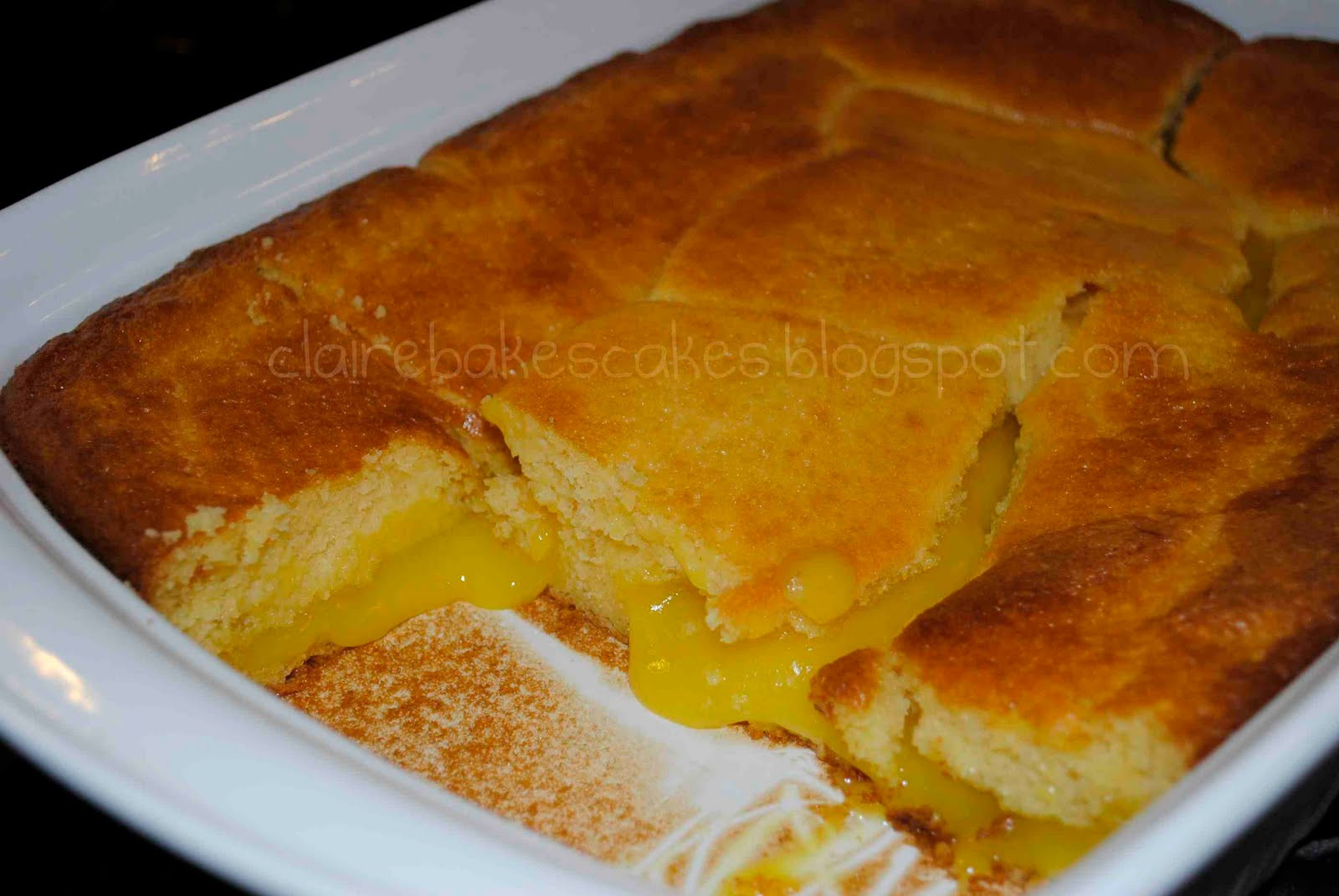 Lemon Pudding Cake Recipe  best lemon pudding