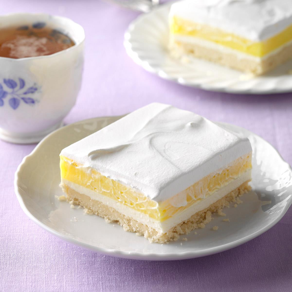 Lemon Pudding Dessert  Lemon Pudding Dessert Recipe