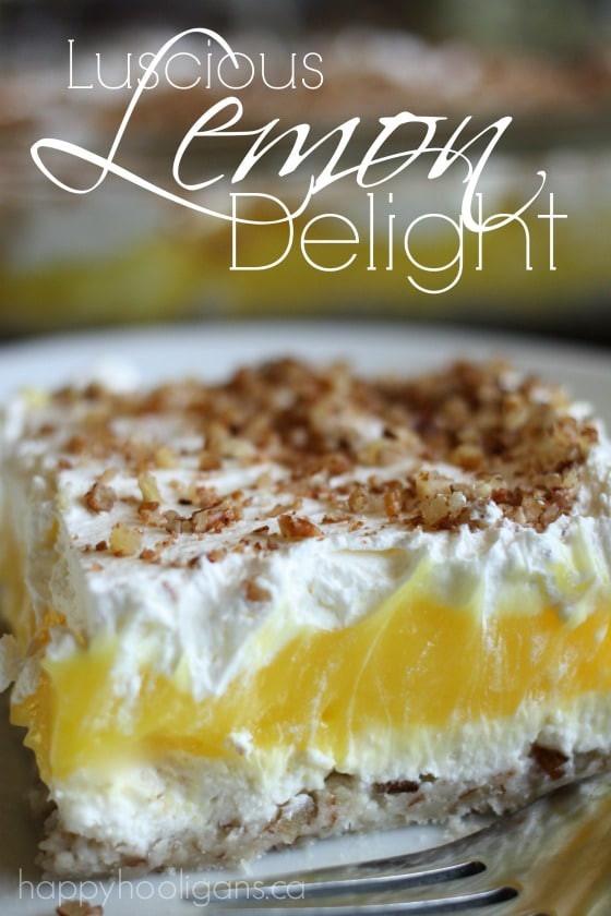 Lemon Pudding Dessert  lemon pudding and cool whip dessert