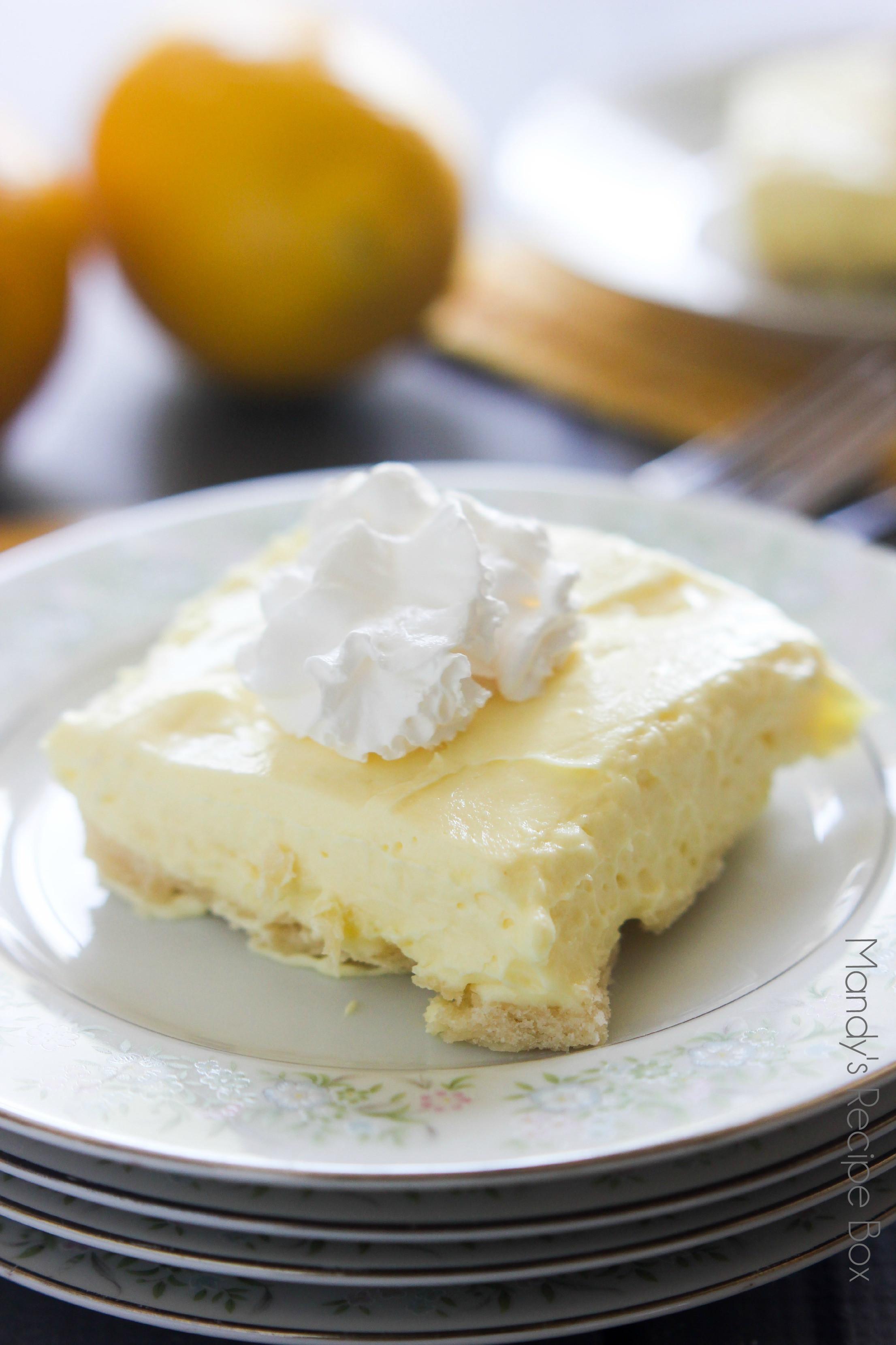 Lemon Pudding Desserts  Lemon Fluff Dessert