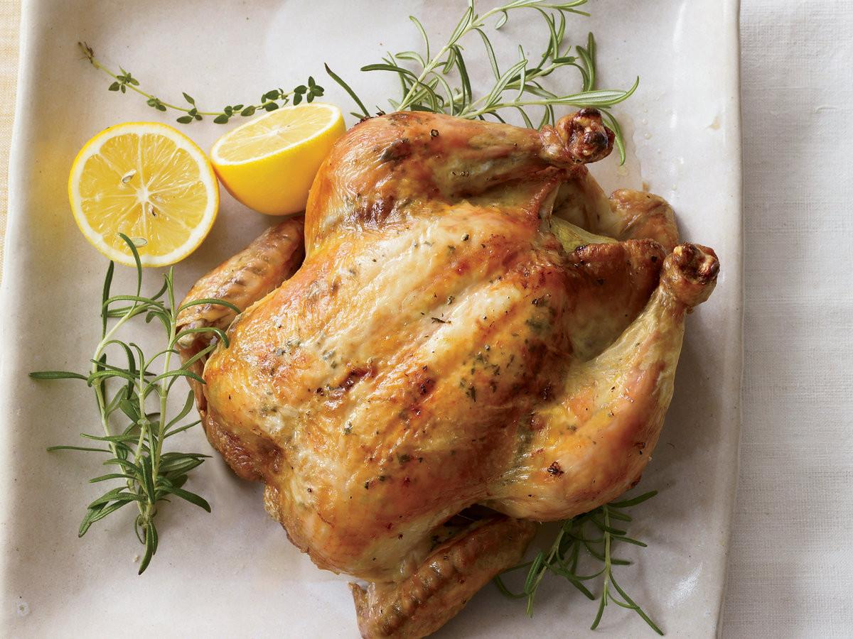 Lemon Roasted Chicken  Herb and Lemon Roasted Chicken Recipe Grace Parisi
