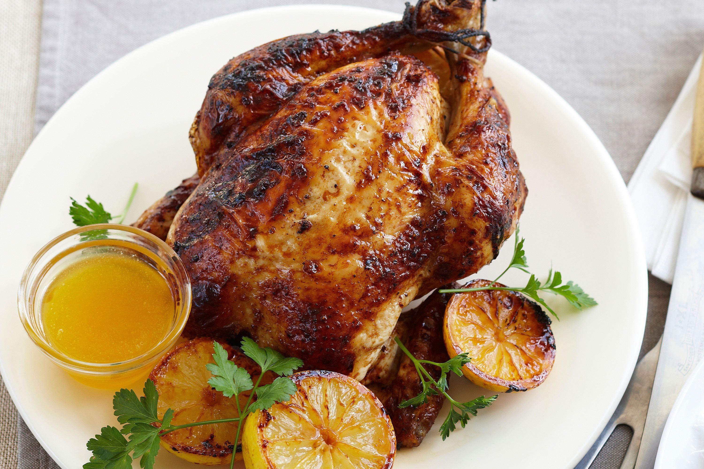 Lemon Roasted Chicken  lemon roasted whole chicken