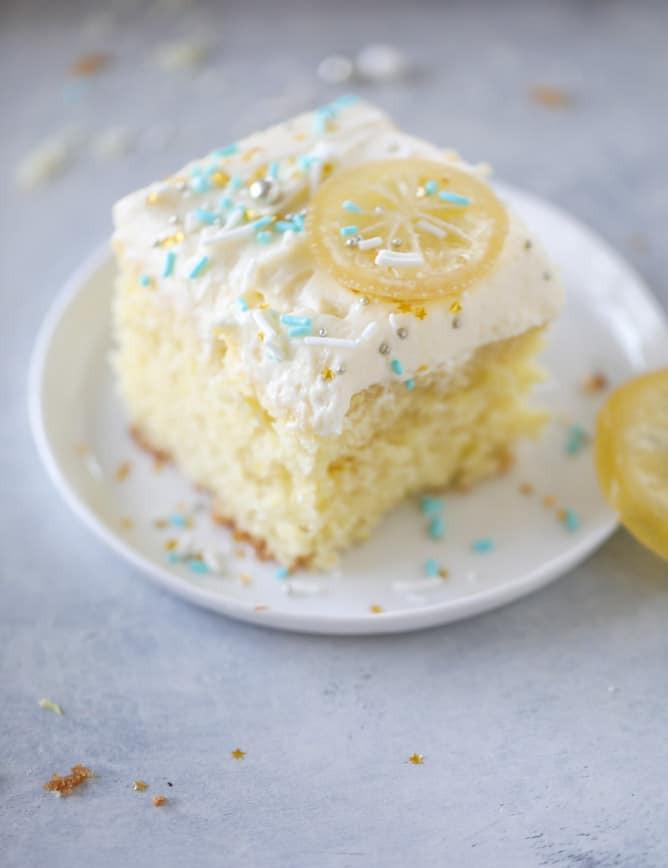 Lemon Sheet Cake  Lemon Sheet Cake Lemon Sheet Cake Recipe from Scratch
