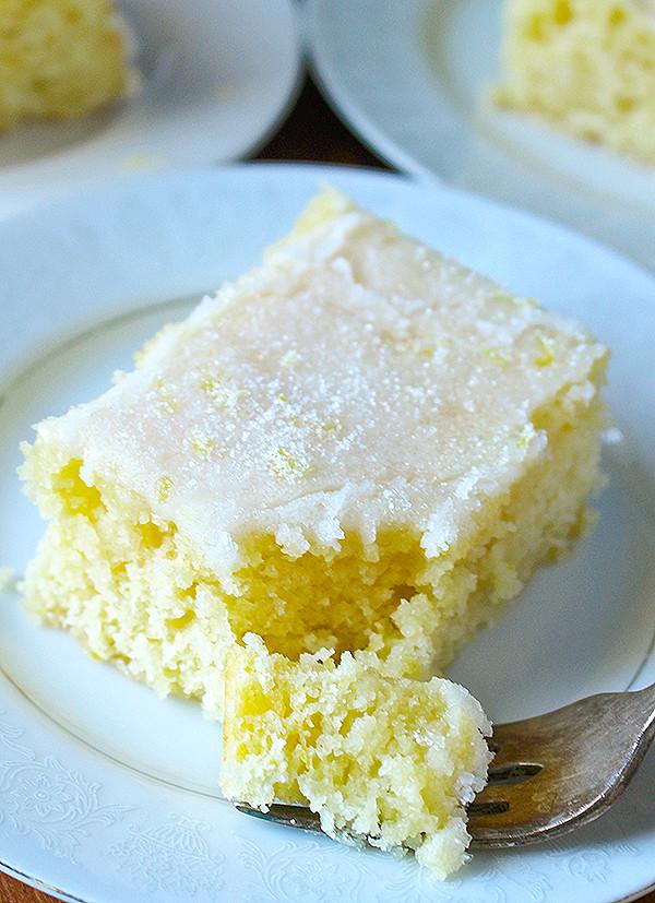 Lemon Sheet Cake  Lemon Buttermilk Sheet Cake Jay s Baking Me Crazy