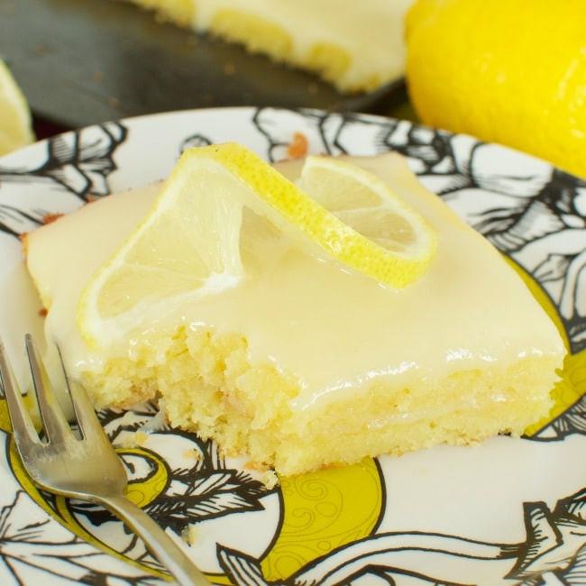 Lemon Sheet Cake  Lemon Sheet Cake Back for Seconds