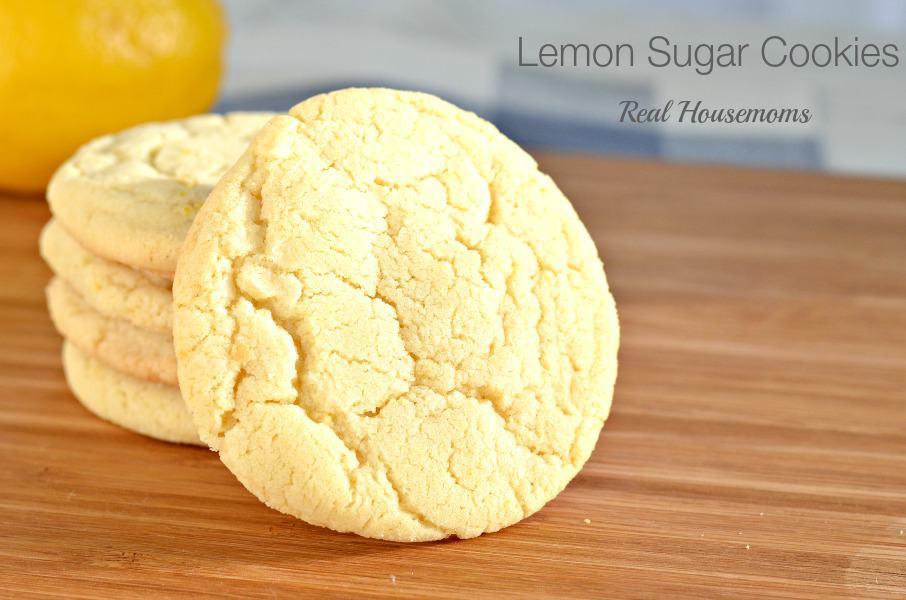 Lemon Sugar Cookies  Lemon Sugar Cookies ⋆ Real Housemoms
