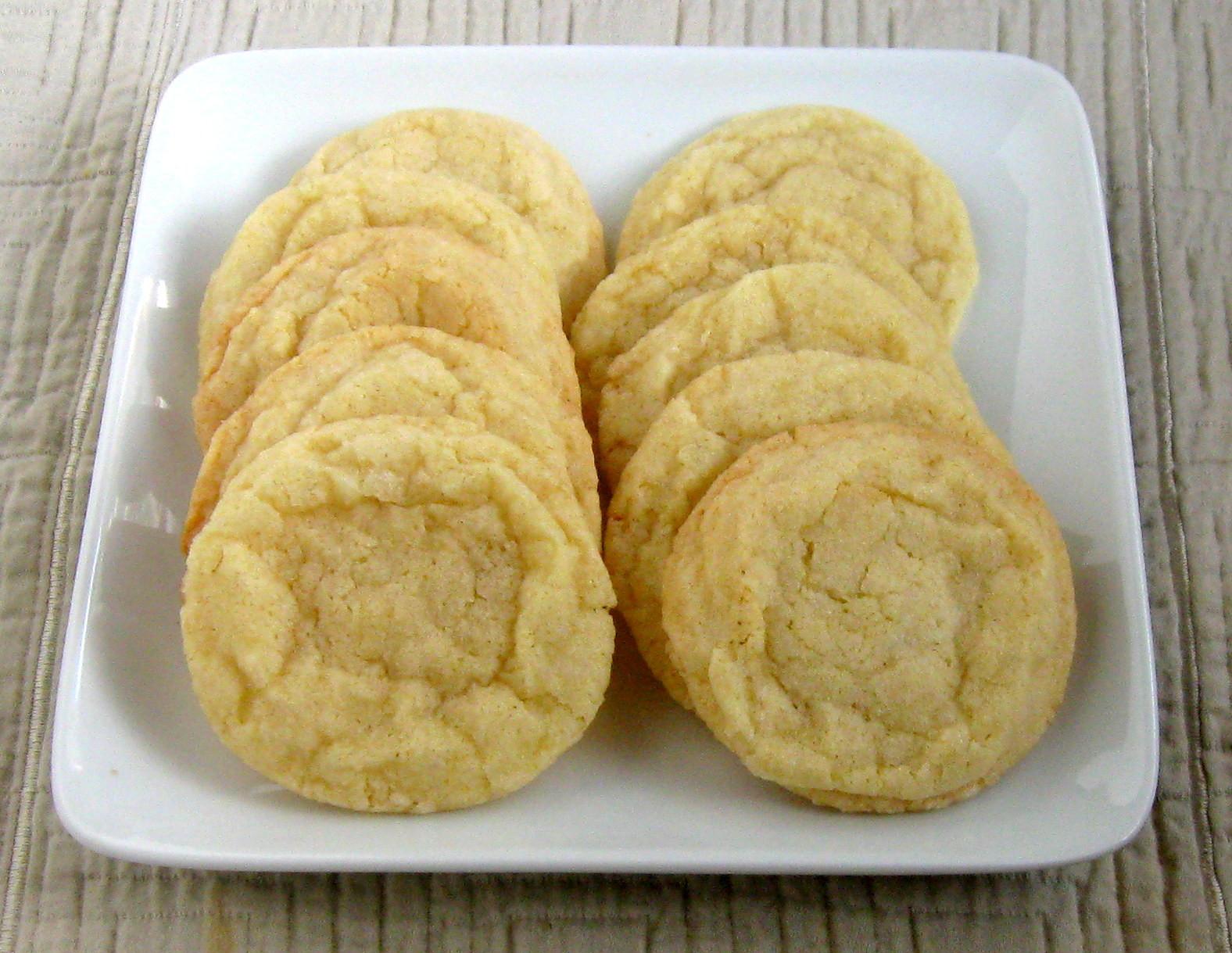 Lemon Sugar Cookies  Lemon Sugar Cookies