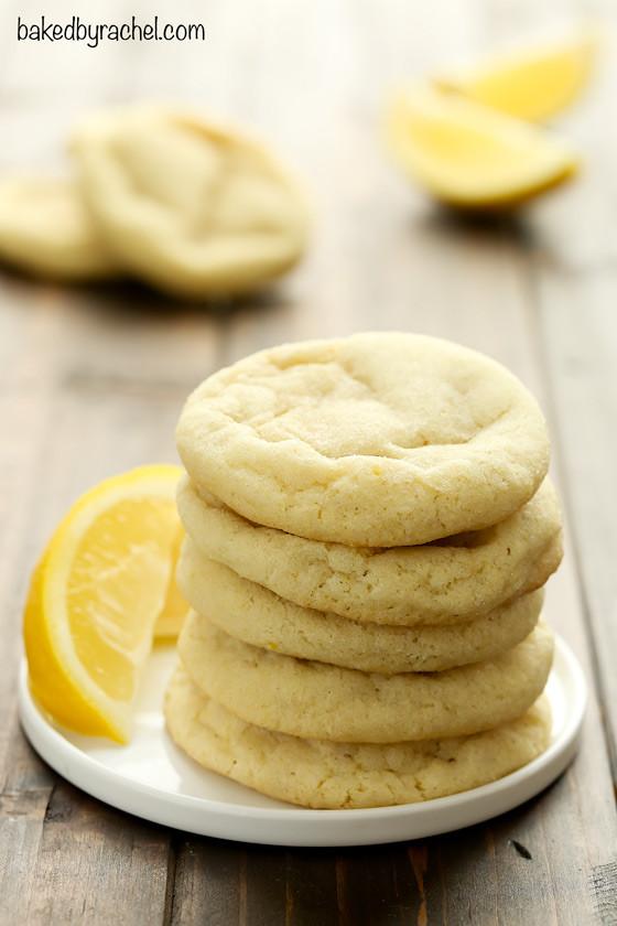 Lemon Sugar Cookies  Soft and Chewy Lemon Sugar Cookies